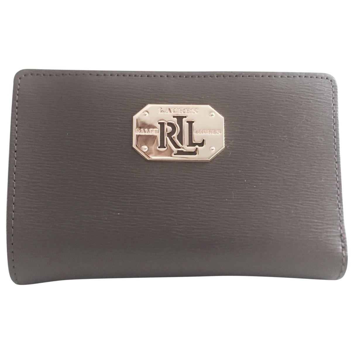 Lauren Ralph Lauren \N Brown Leather wallet for Women \N