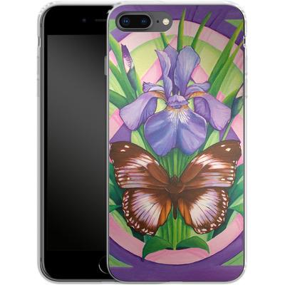 Apple iPhone 8 Plus Silikon Handyhuelle - Teri Rosario - Rebirth von TATE and CO