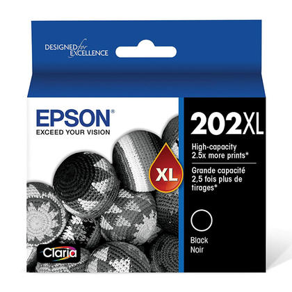 Epson 202XL T202XL120-S cartouche dencre originale noire haute capacite