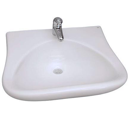 4-901WH Bella Wall-Hung Sink  1 hole