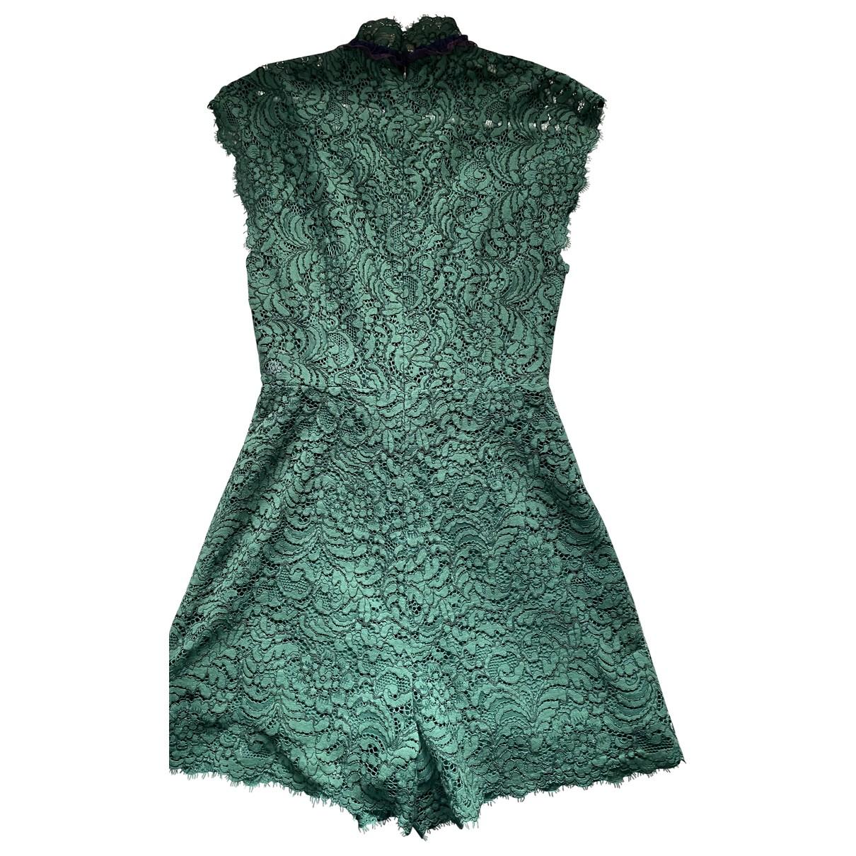 Sandro - Combinaison   pour femme en coton - vert