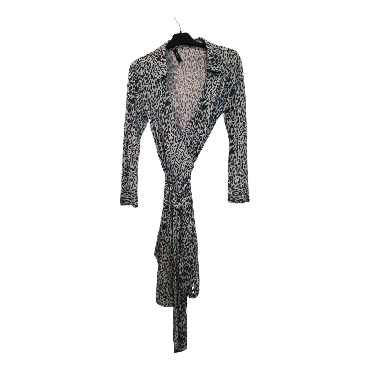 Sand - Robe   pour femme en soie - turquoise