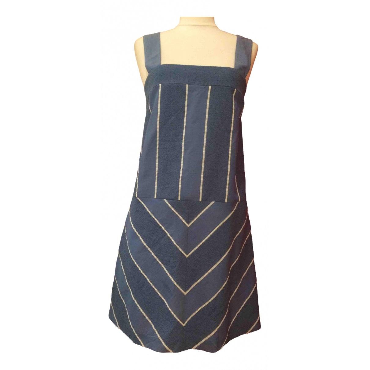 Cacharel \N Kleid in  Blau Baumwolle