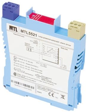 MTL 2 Channel Isolation Barrier With Loop Powered 2 Channel IS Relay