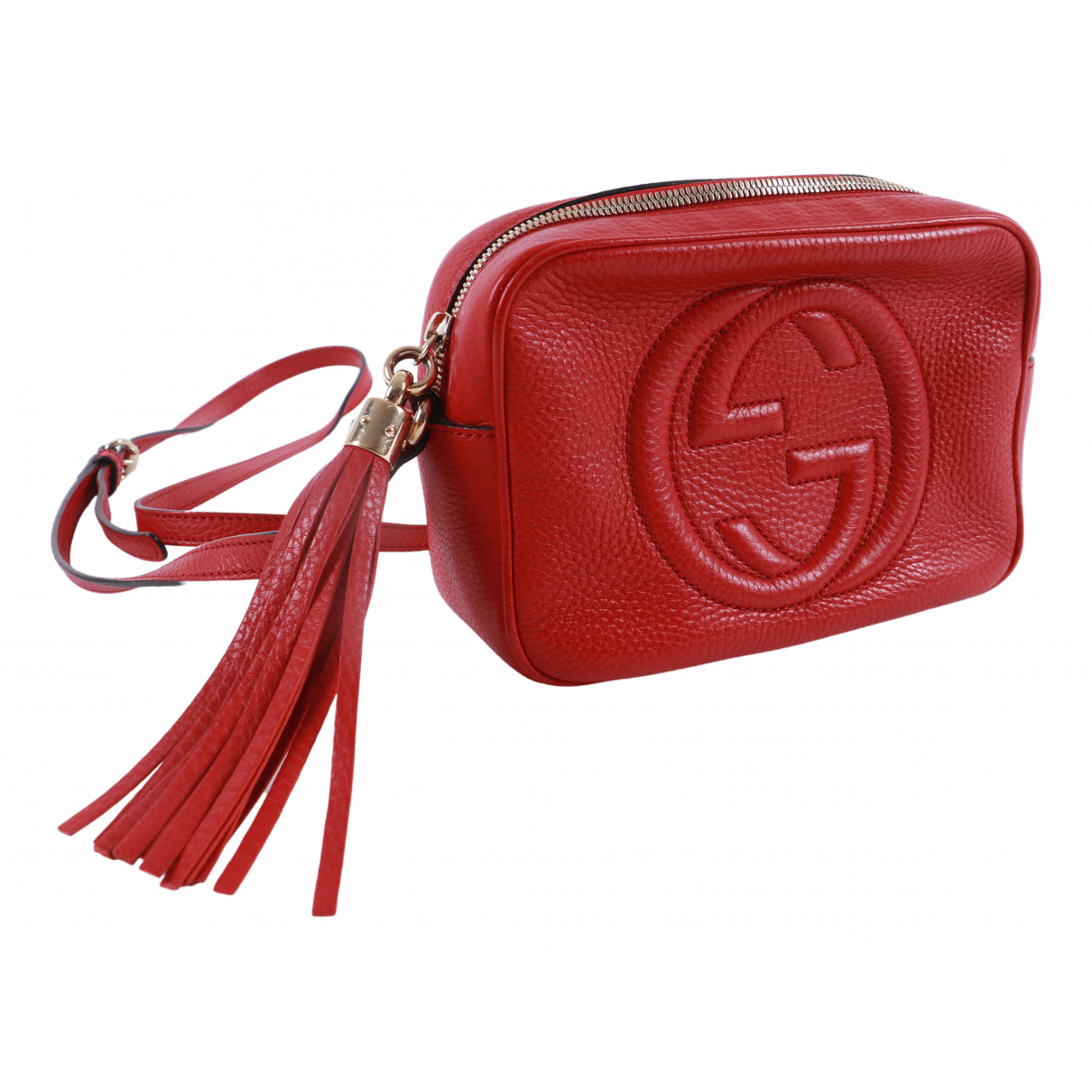 Gucci Soho Red Leather handbag for Women \N