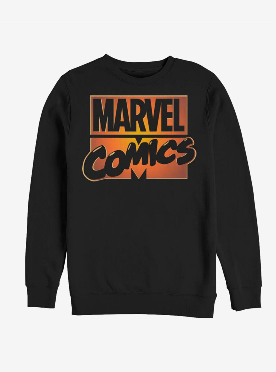 Marvel Comics Orange Glow Sweatshirt
