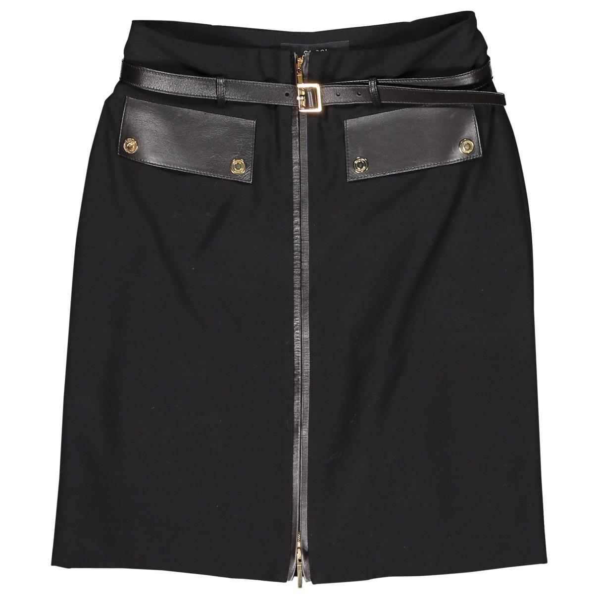 Gucci \N Black Wool skirt for Women 40 IT