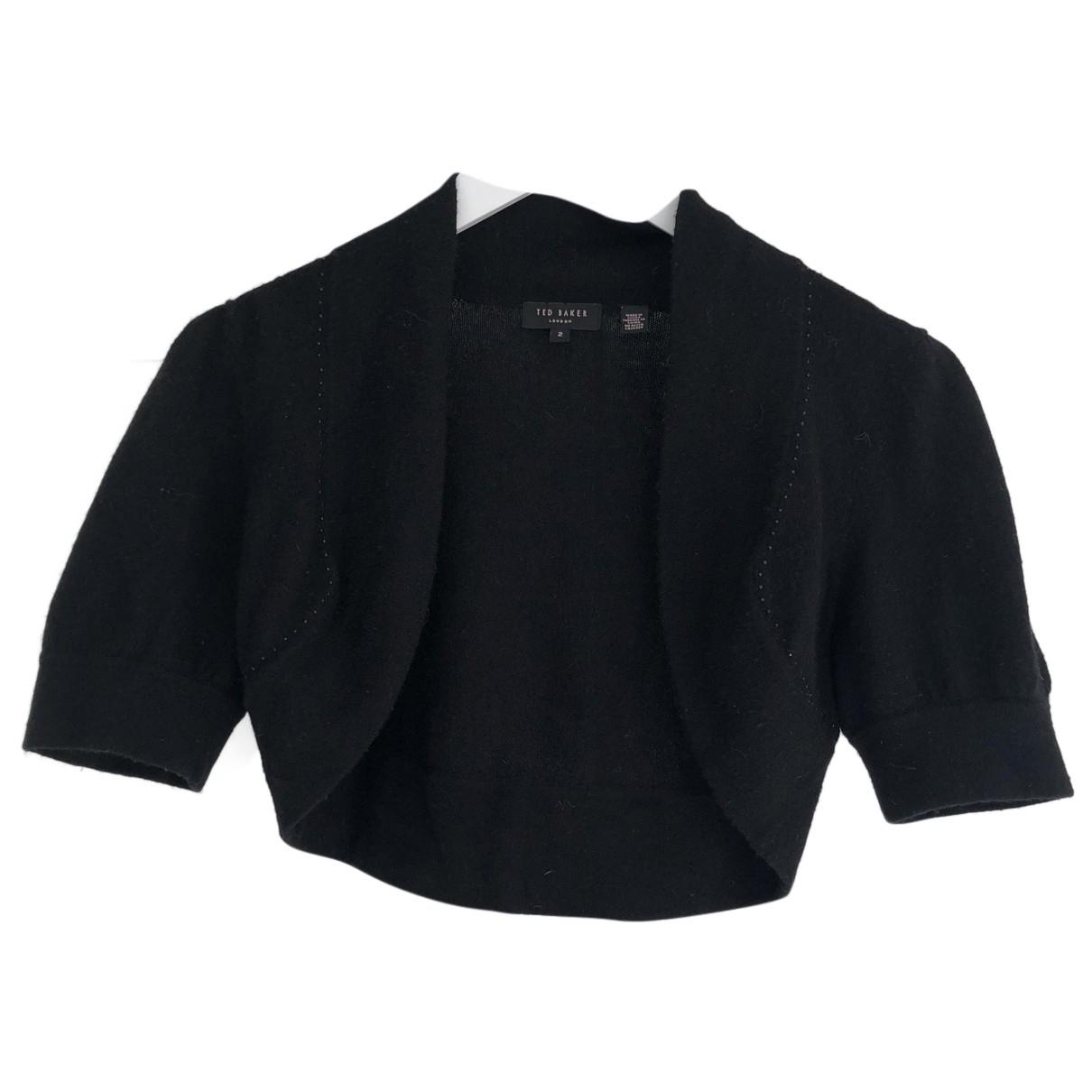 Ted Baker - Pull   pour femme en laine - noir