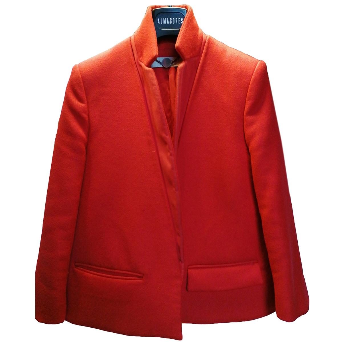 Stella Mccartney - Veste   pour femme en laine - rouge