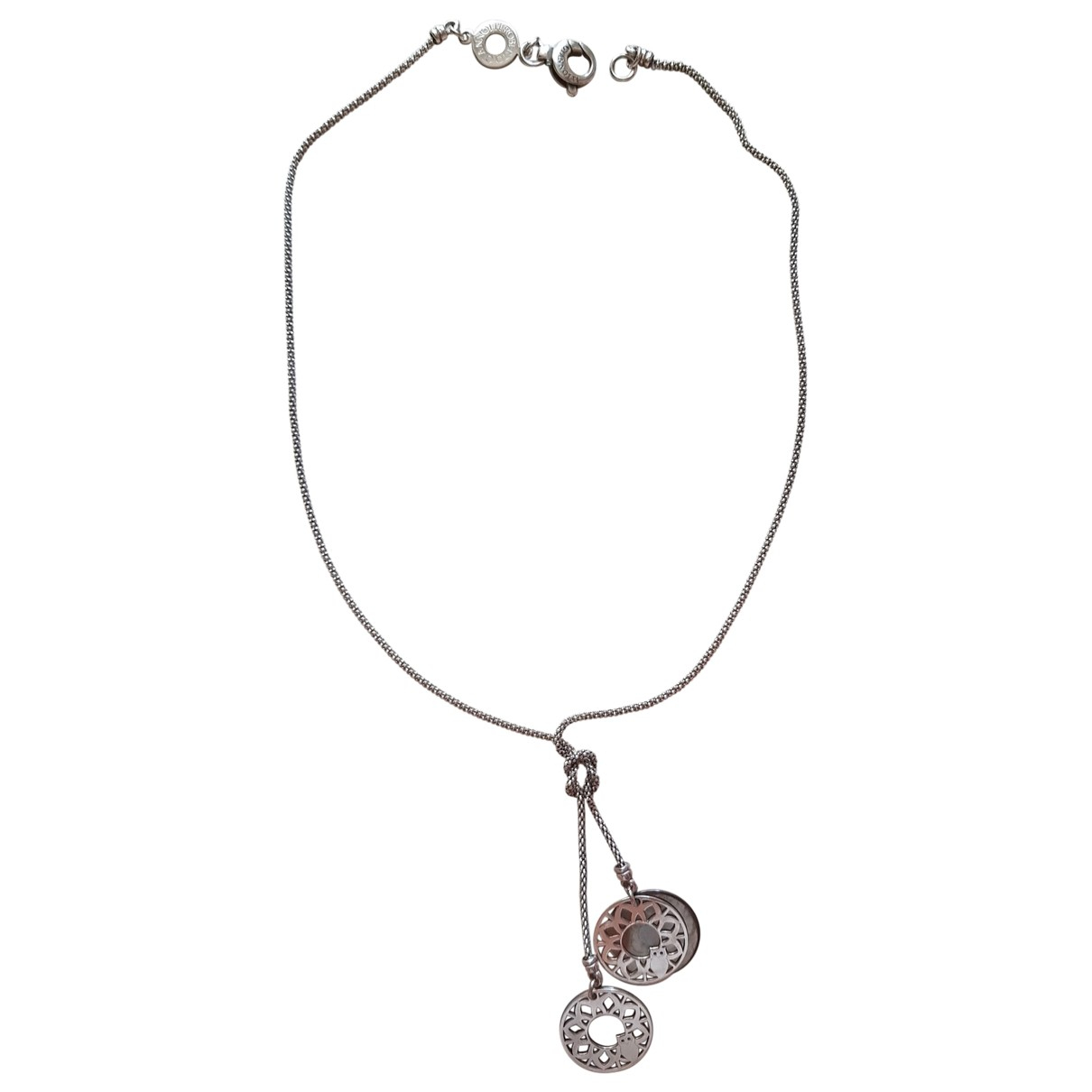 Non Signé / Unsigned \N Silver necklace for Women \N