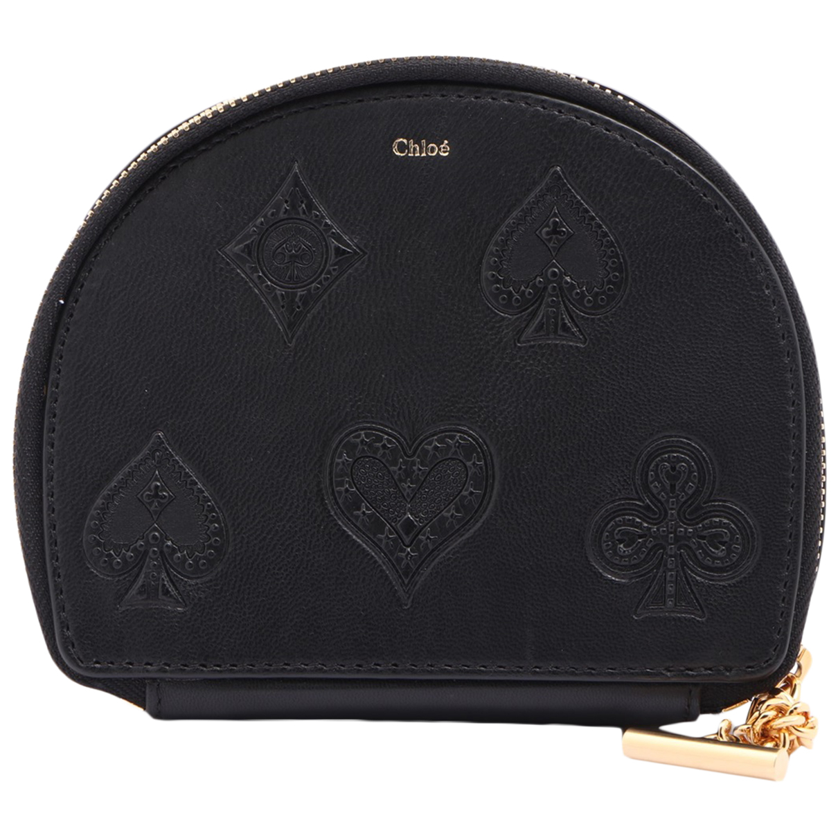 Chloé N Black Leather Purses, wallet & cases for Women N