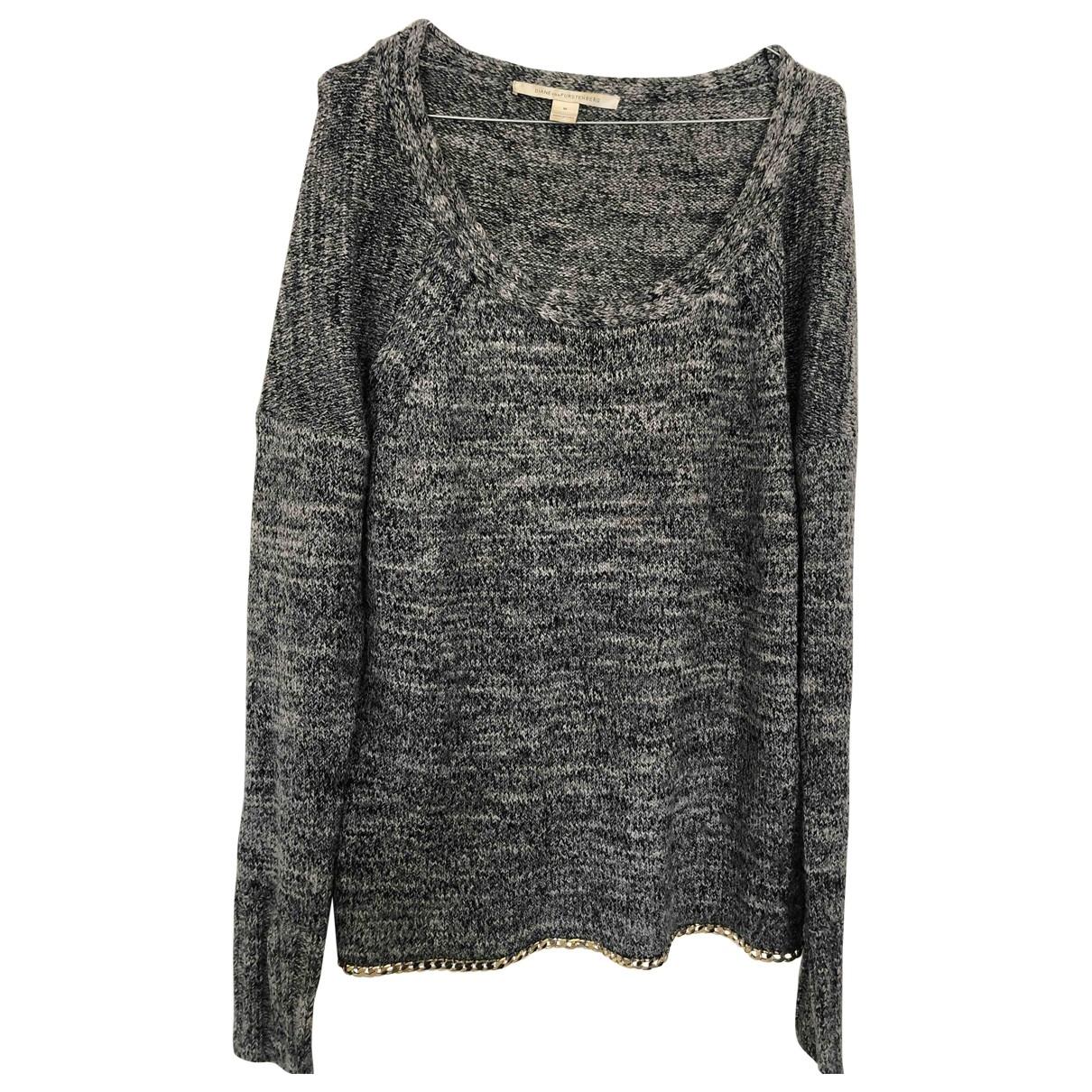 Diane Von Furstenberg \N Grey Wool Knitwear for Women M International