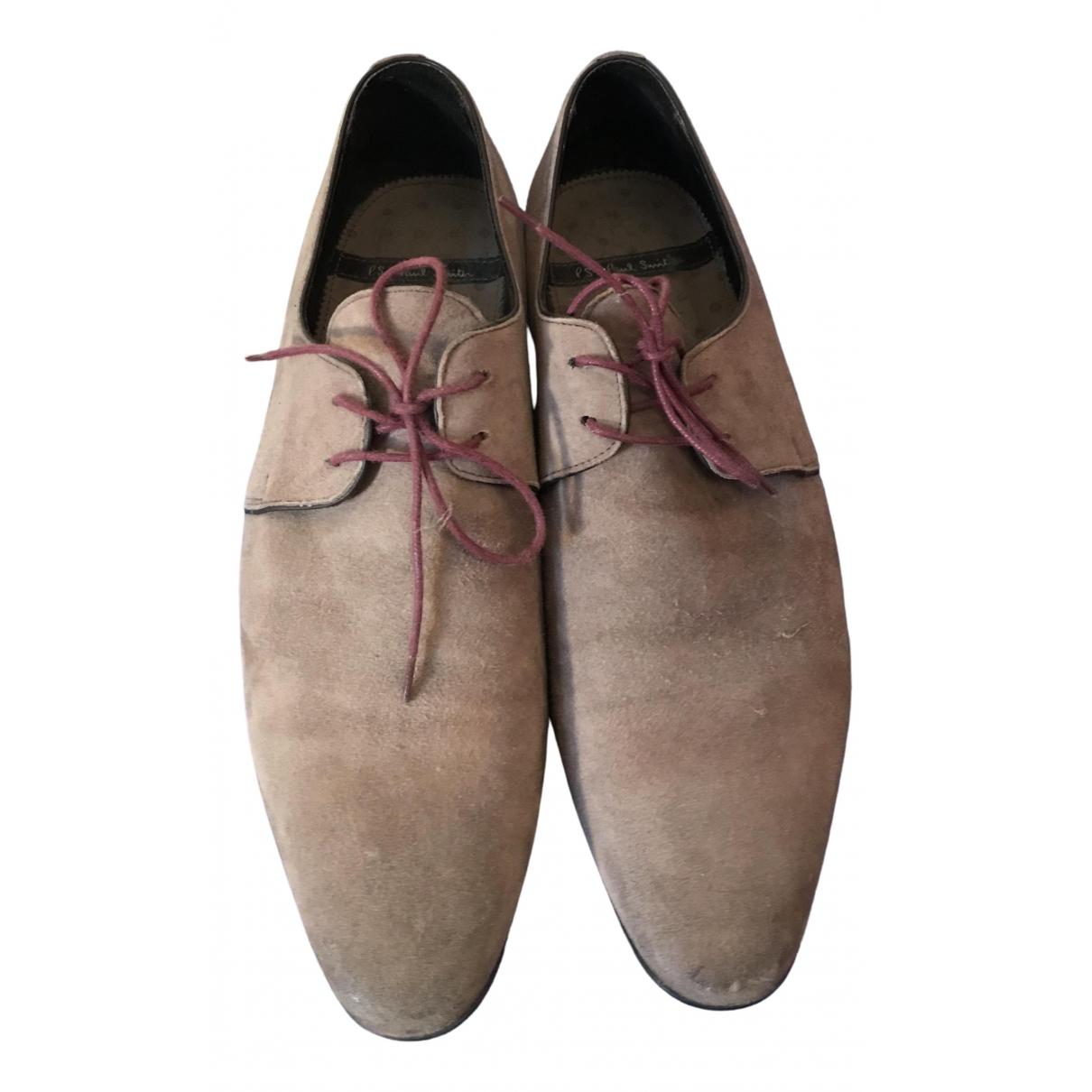 Paul Smith \N Sneakers in  Grau Veloursleder