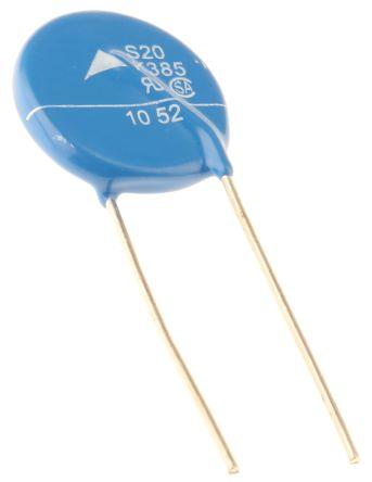 EPCOS , Standard Metal Oxide Varistor 450pF 100A, Clamping 1025V, Varistor 620V (5)