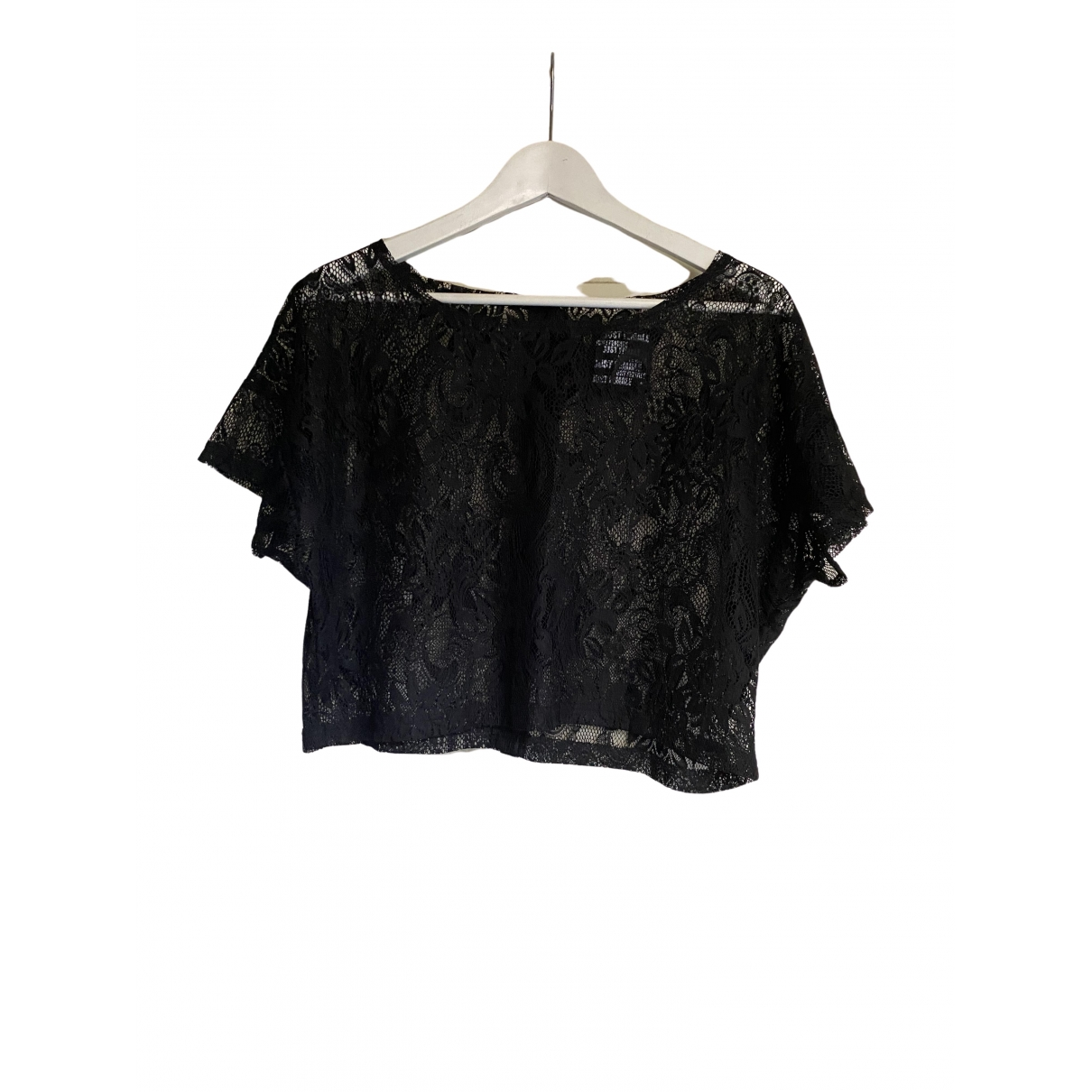 Just Female \N Black Lace  top for Women S International