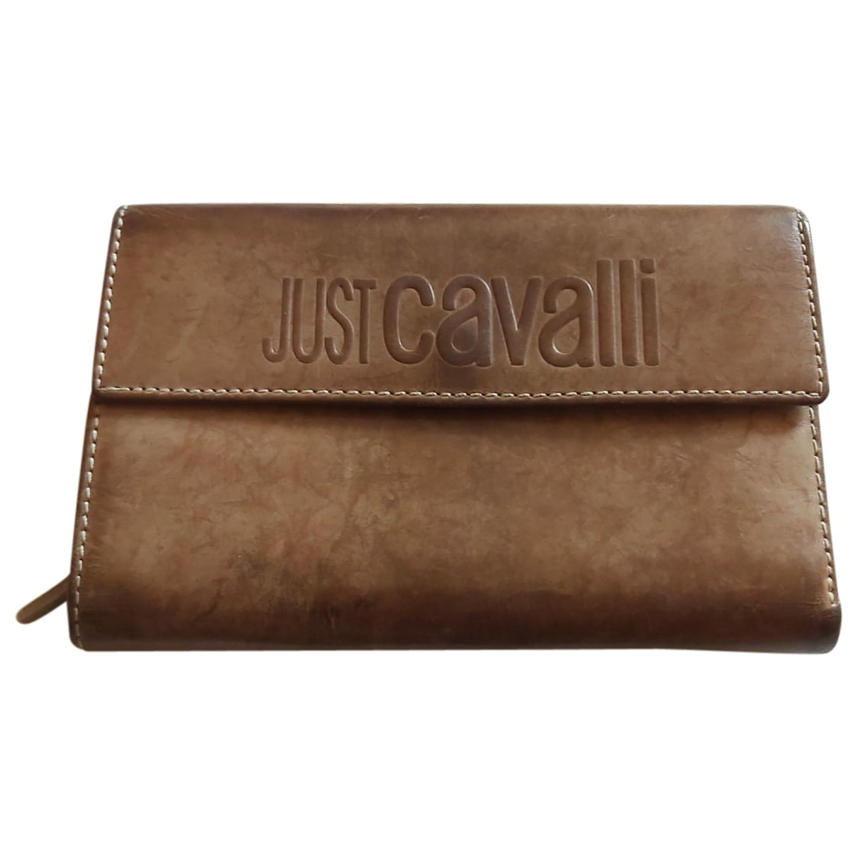 Just Cavalli \N Leather wallet for Women \N
