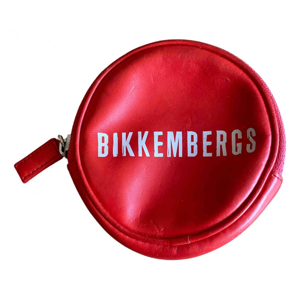 Dirk Bikkembergs - Portefeuille   pour femme - rouge