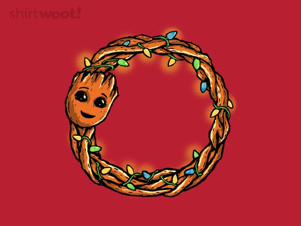 Galaxy Wreath T Shirt