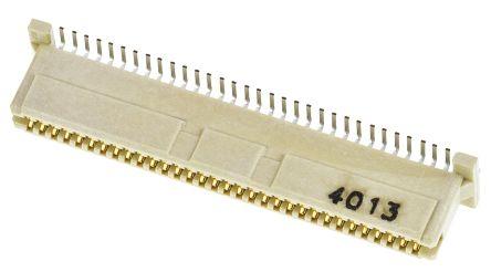 Molex , PMC Mezzanine, 71439 1mm Pitch 64 Way 2 Row Straight Edge Connector, Surface Mount, Solder Termination