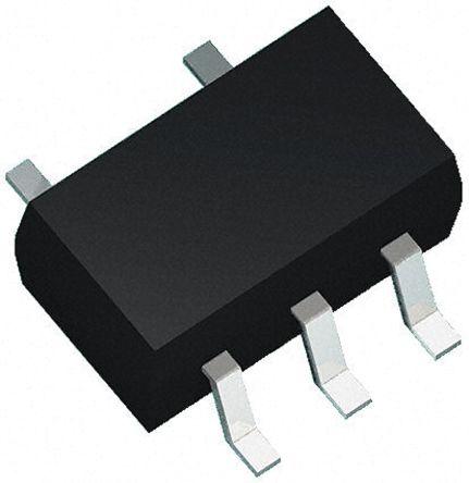 Littelfuse SP0504BAJTG, Quad-Element Uni-Directional TVS Diode Array, 0.2W, 5-Pin SC-70 (3000)