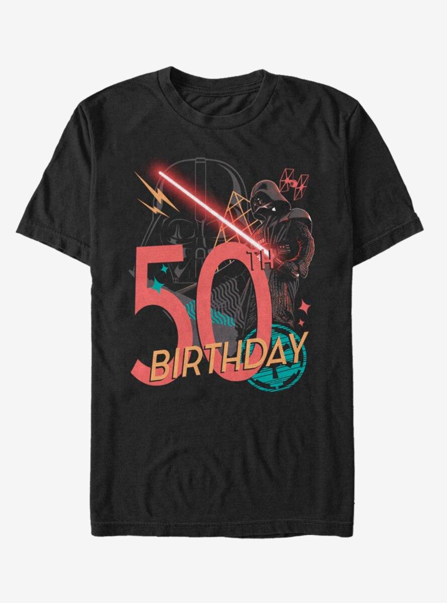 Star Wars Vader 50th Bday T-Shirt