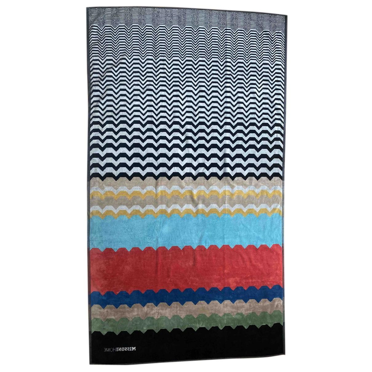 Missoni Home - Linge de maison   pour lifestyle en coton