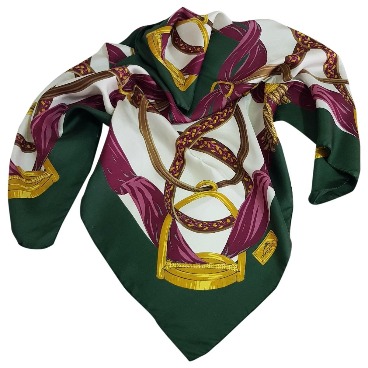 Longchamp \N Multicolour Silk scarf for Women \N
