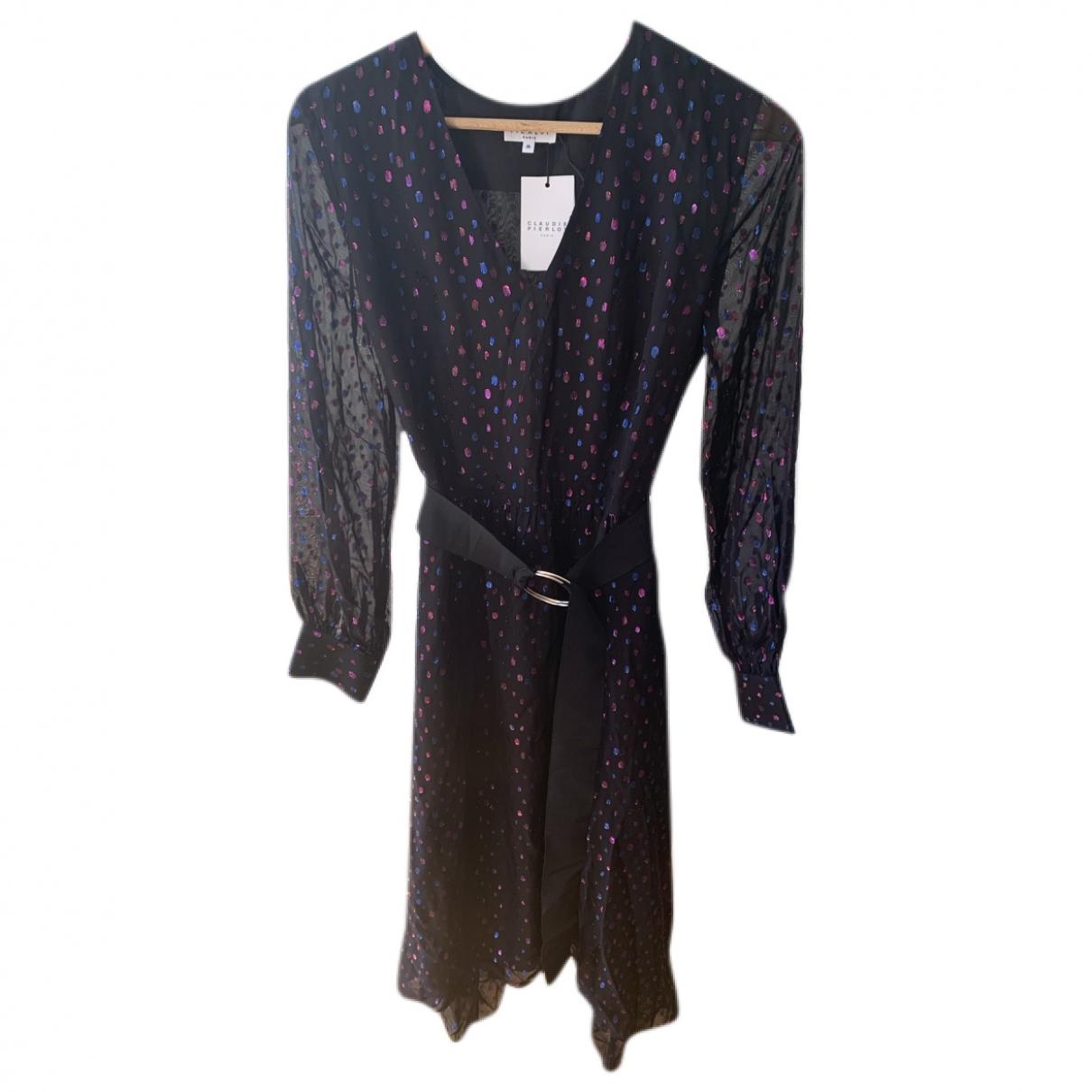 Claudie Pierlot Spring Summer 2020 Black dress for Women 36 FR