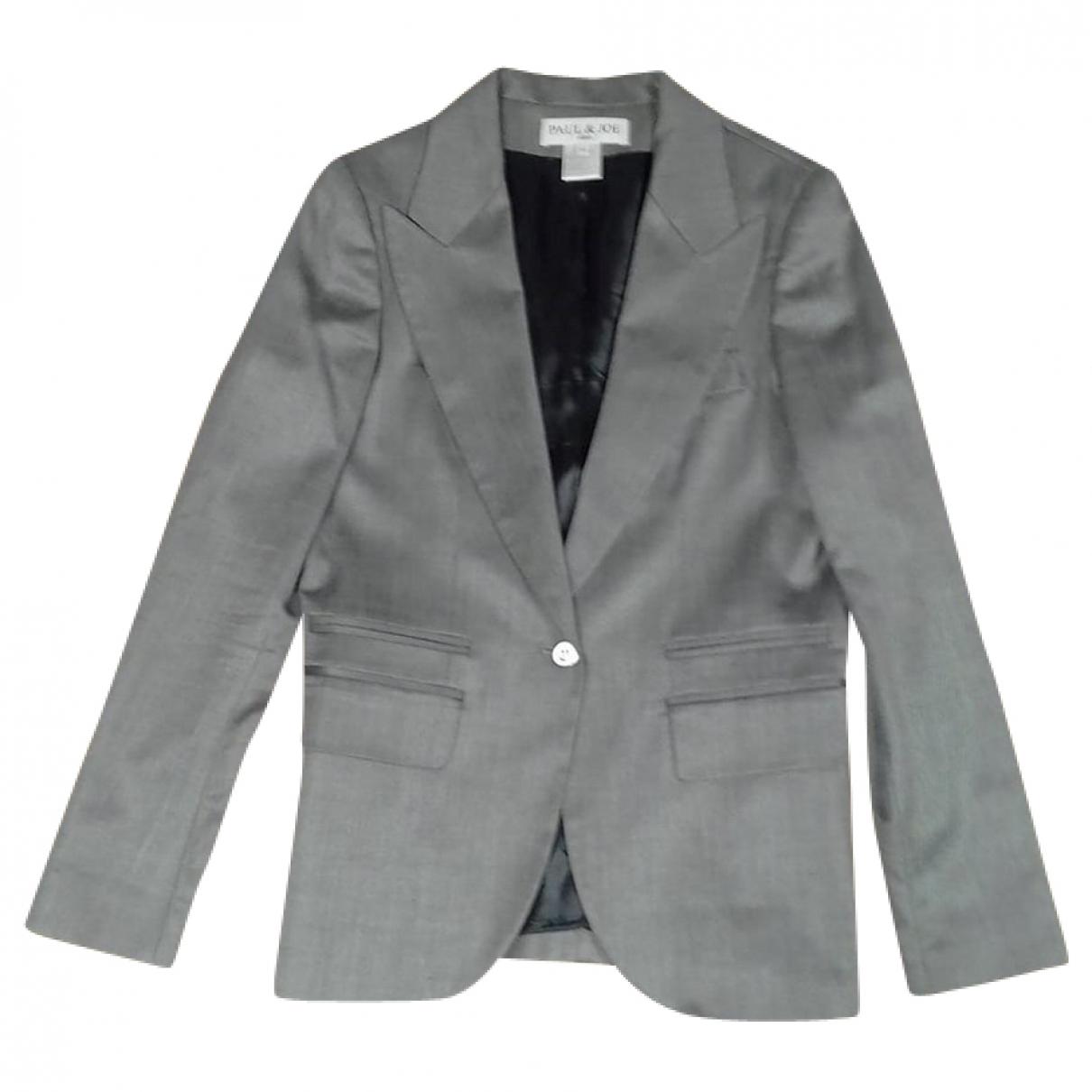 Paul & Joe \N Grey Wool jacket for Women 40 FR
