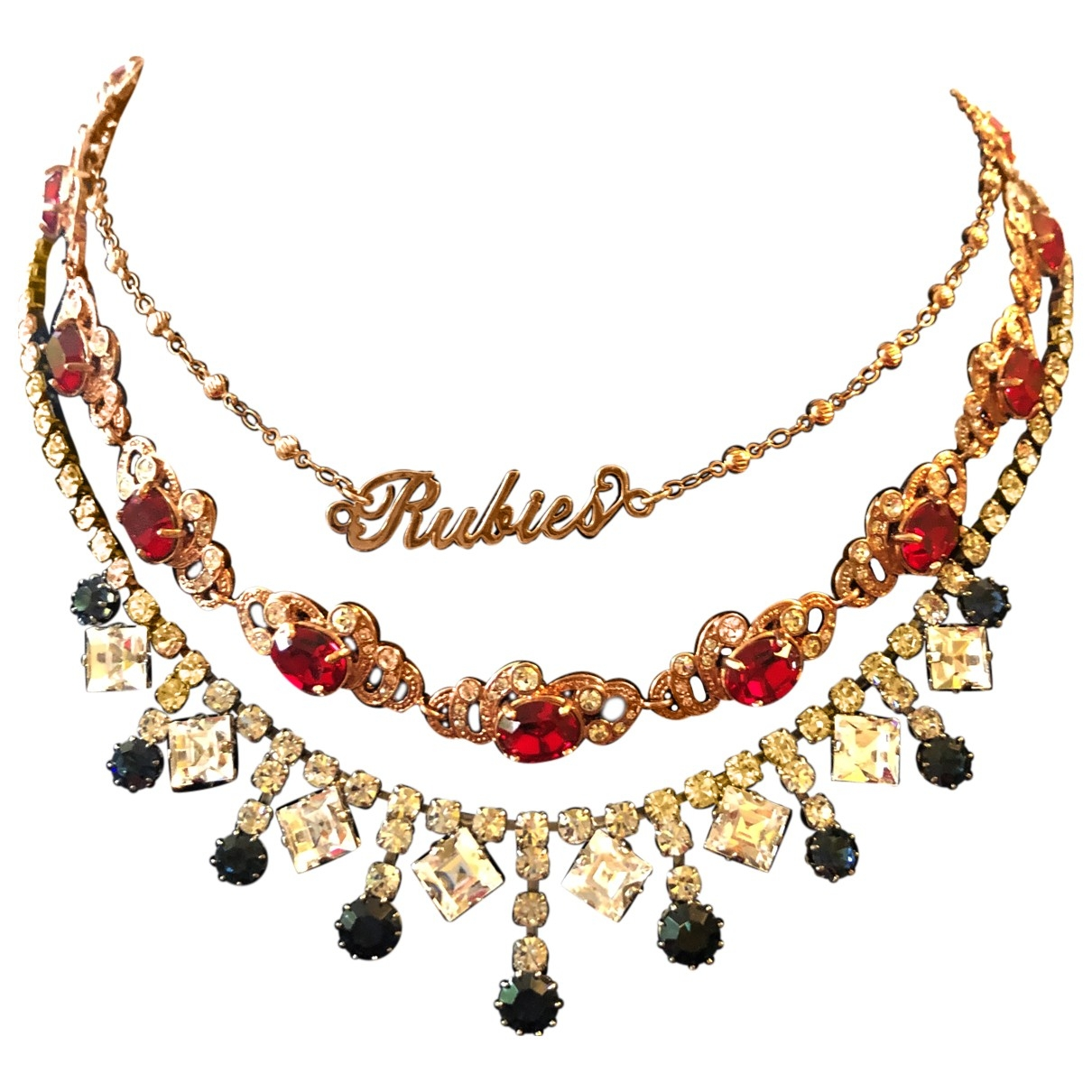 Mawi \N Gold Metal necklace for Women \N