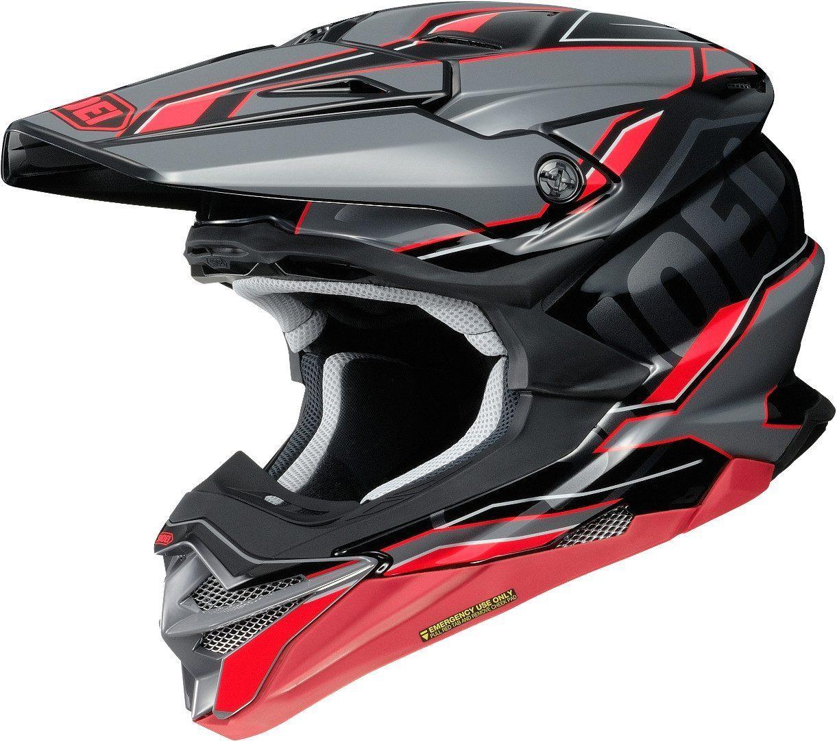 Shoei VFX-WR Allegiant TC-1 Motocrosshelm M