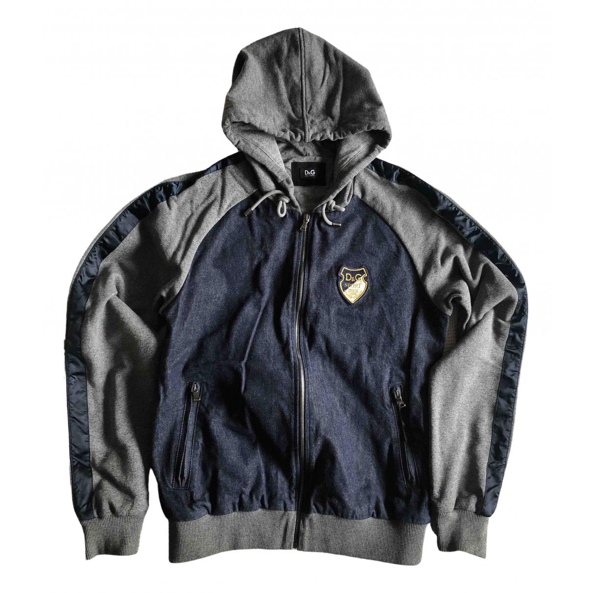 Dolce & Gabbana N Blue Cotton Knitwear & Sweatshirts for Men 50 IT