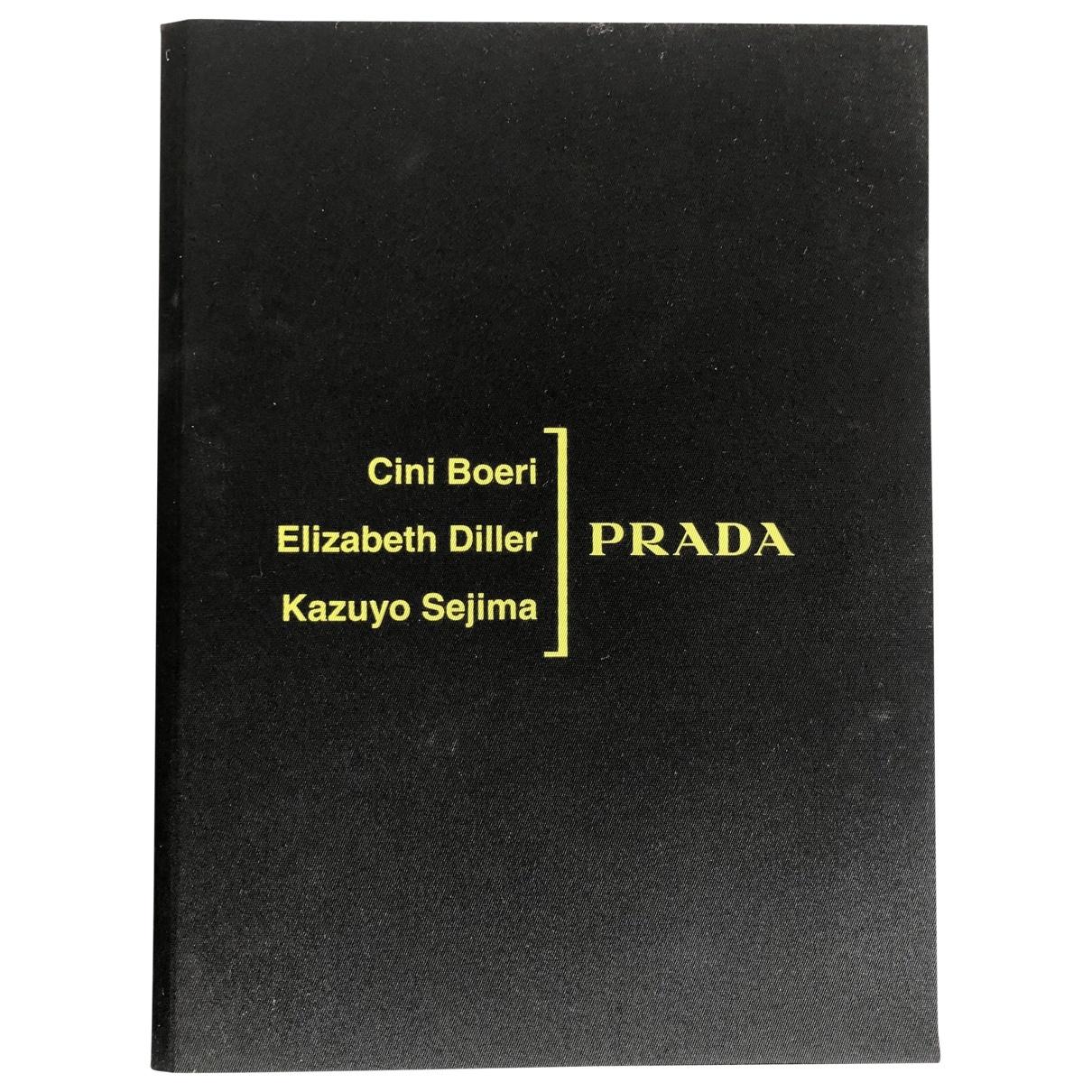 Prada - Mode   pour lifestyle en coton - noir