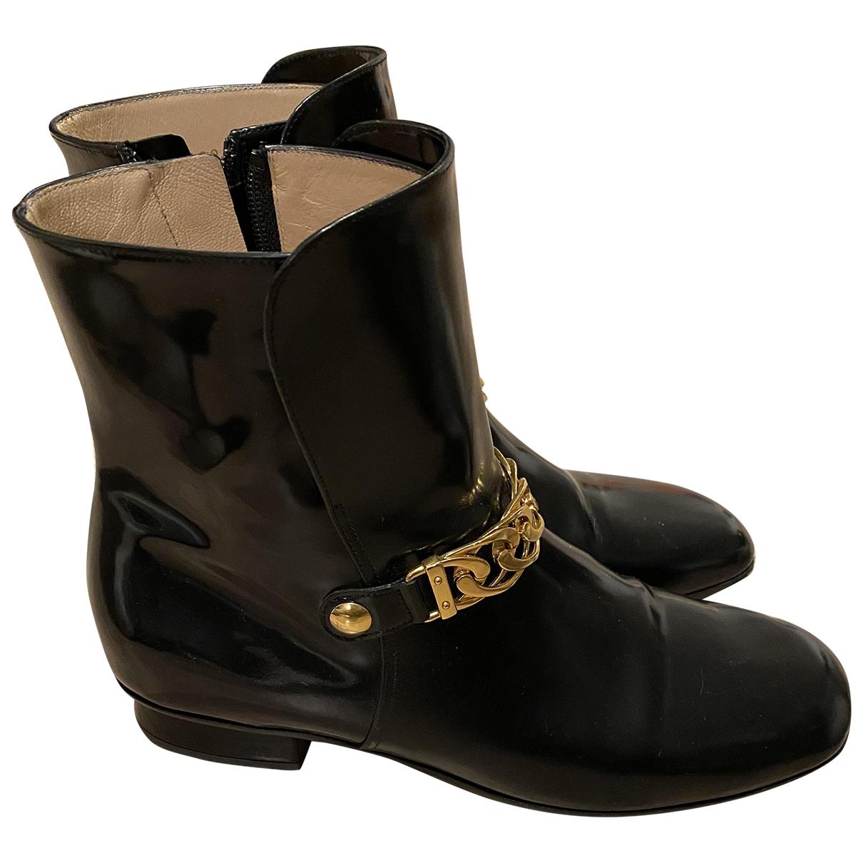 Botas de Charol Gucci