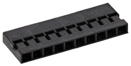 HARWIN , M22-30 Female Connector Housing, 2mm Pitch, 10 Way, 1 Row (10)