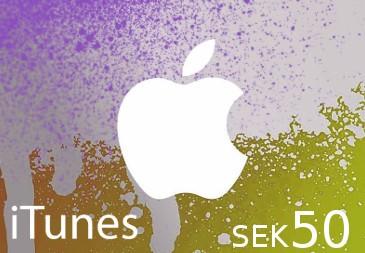 iTunes SEK 50 SE Card