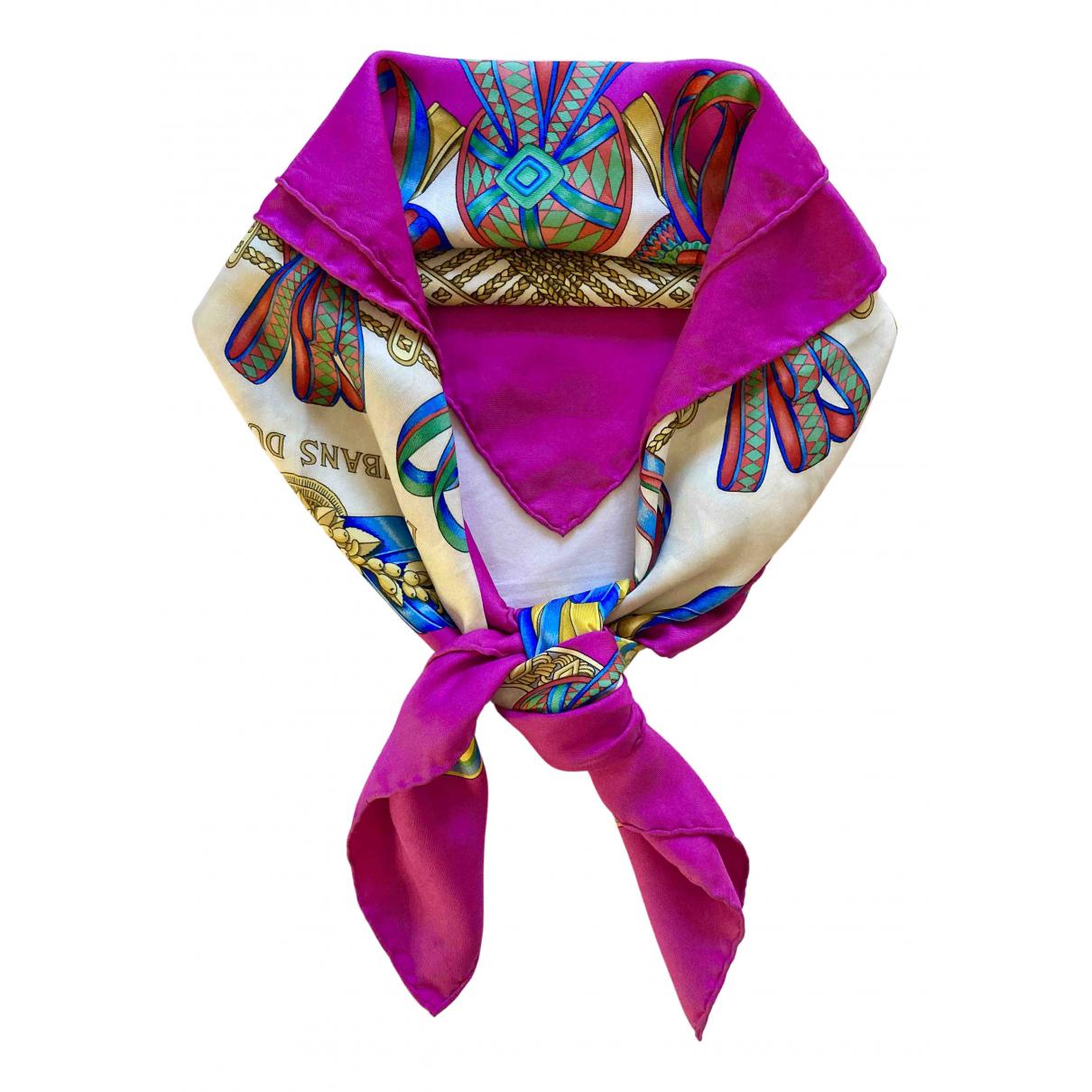 Hermès N Pink Silk Silk handkerchief for Women N