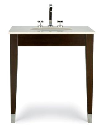 12.18.220131.03 Custom Collection Bella Crema Top for 31 Clarissa Vanity in Pre-Sunk Sink Clips for Ease