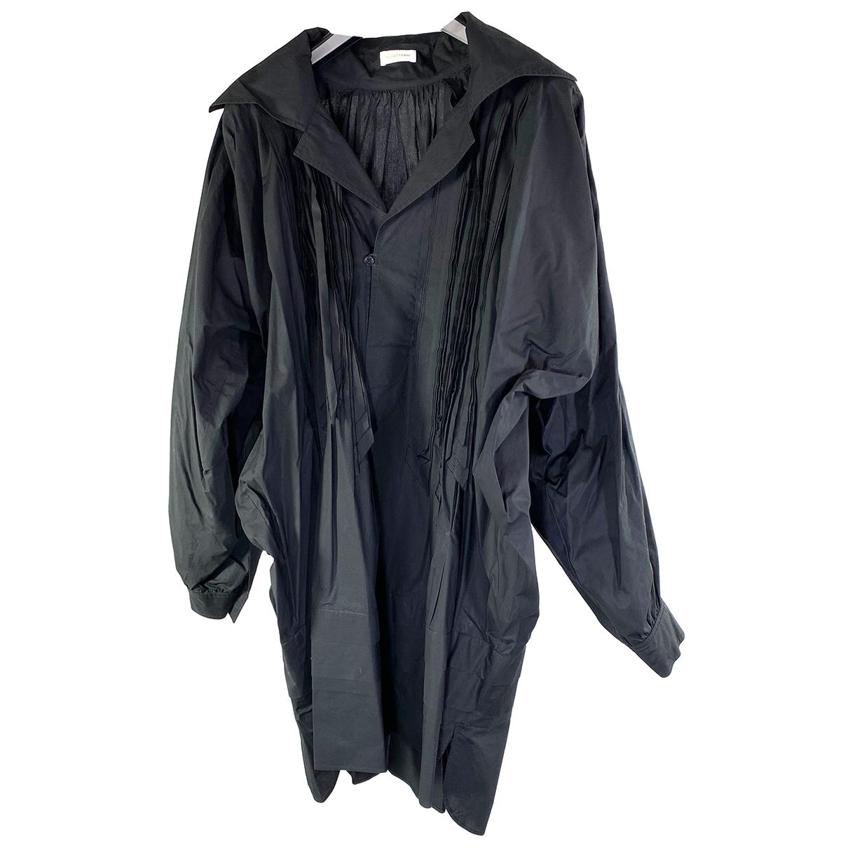 Wunderkind - Robe   pour femme en coton - noir