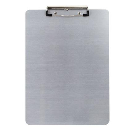 Saunders Recycled Aluminum Clipboard, Contoured Clip with Rubber Corners