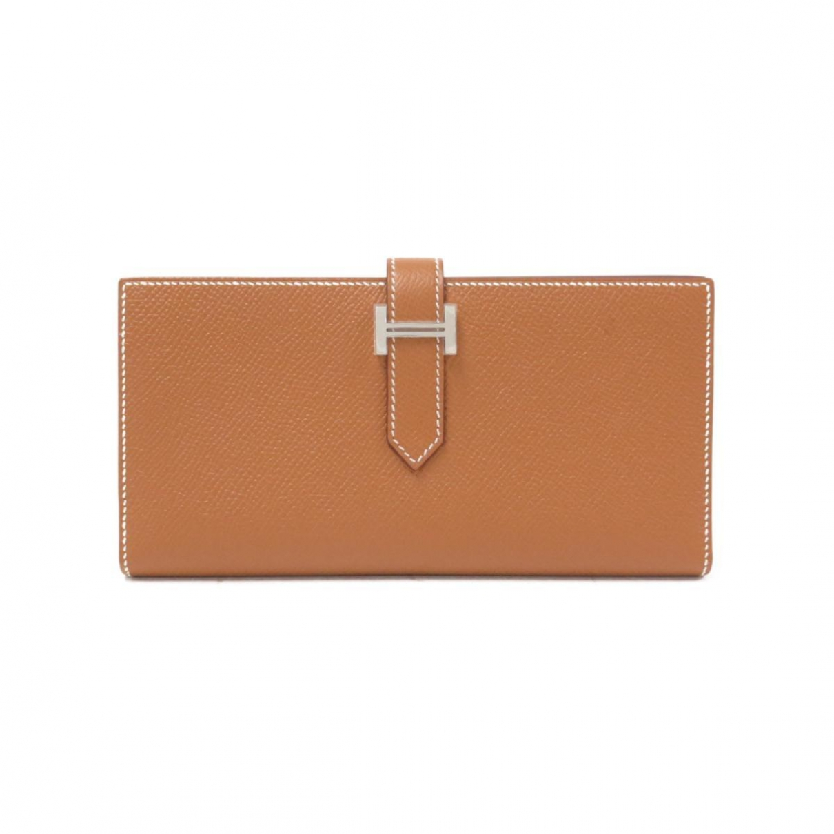 Hermès Béarn Brown Leather wallet for Women \N