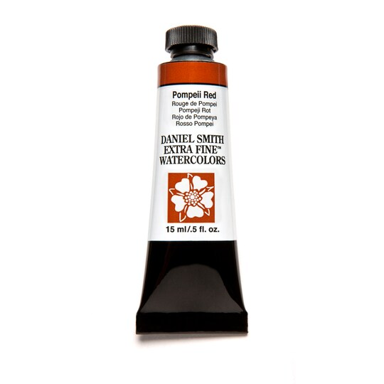 Daniel Smith Extra Fine™ Watercolor, 15 Ml Paint in Pompeii Red | Michaels®