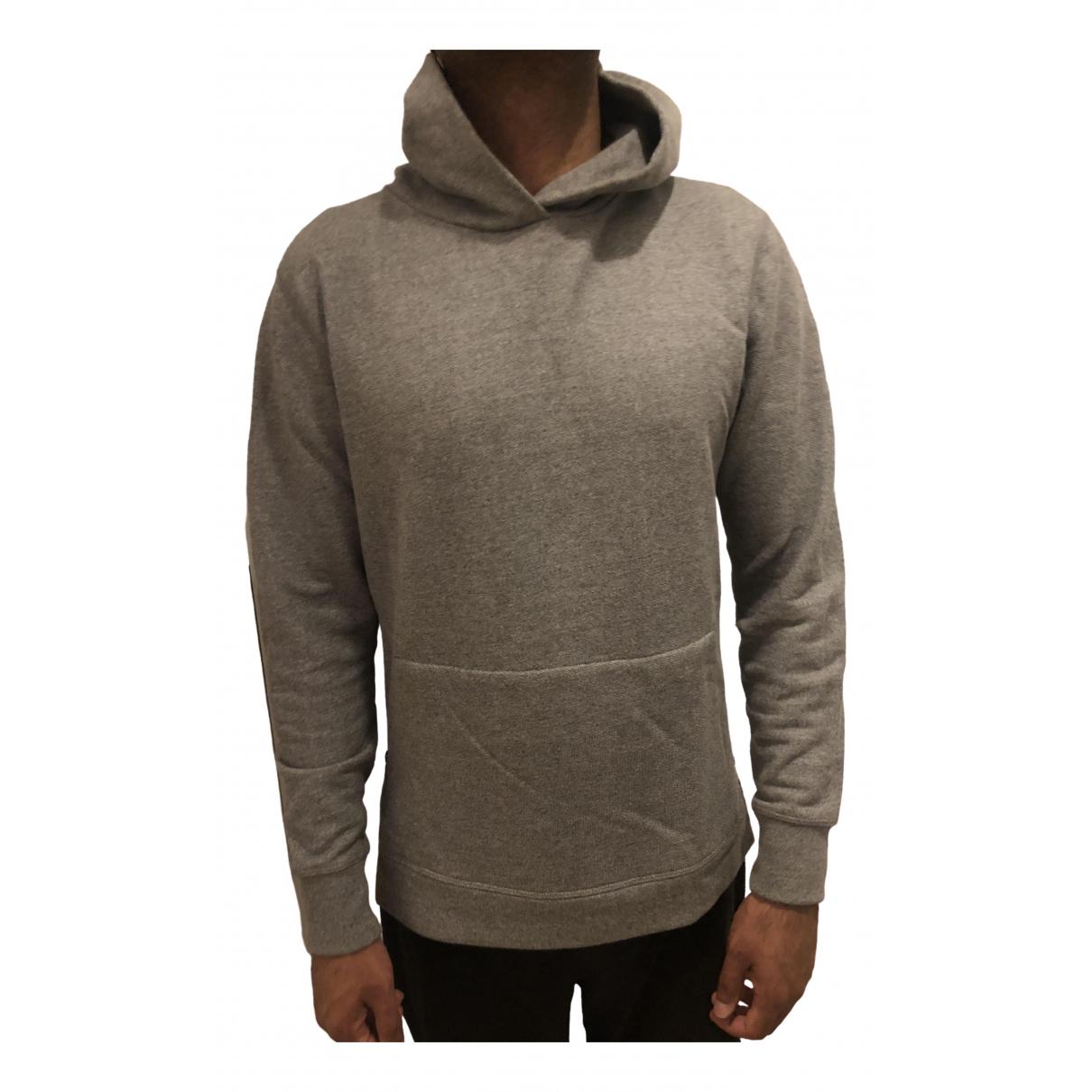 John Elliott - Chemises   pour homme en coton - gris