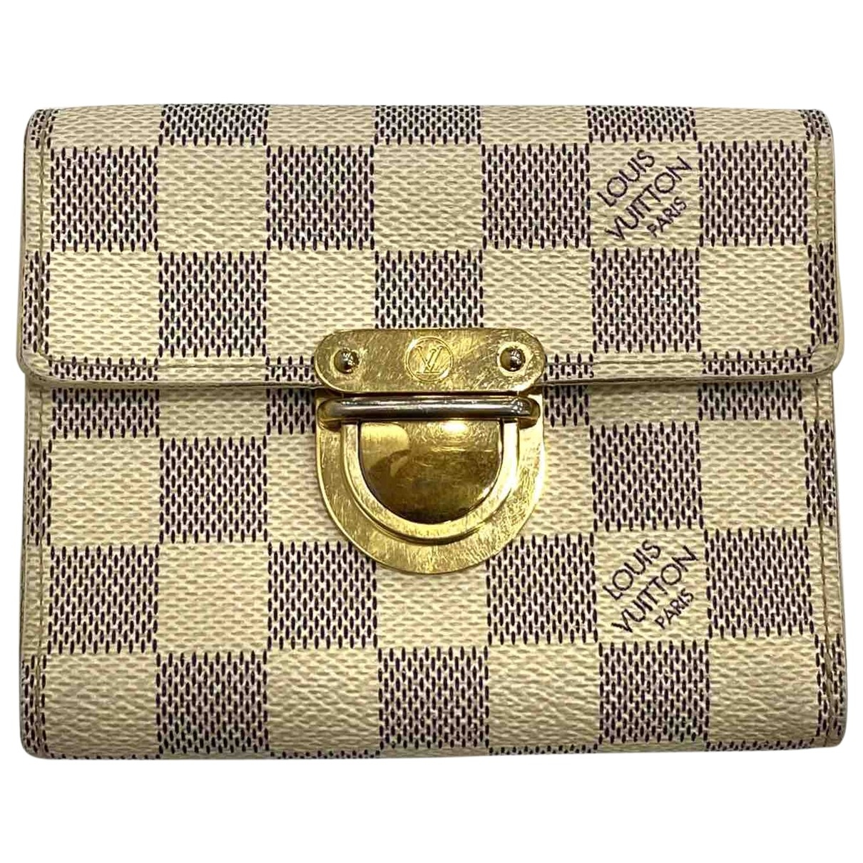 Louis Vuitton Koala Blue Cloth wallet for Women \N