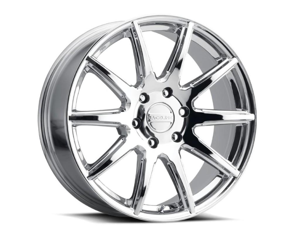 Raceline 159C Spike Wheel 22x9.5 6x139.7 15mm Chrome