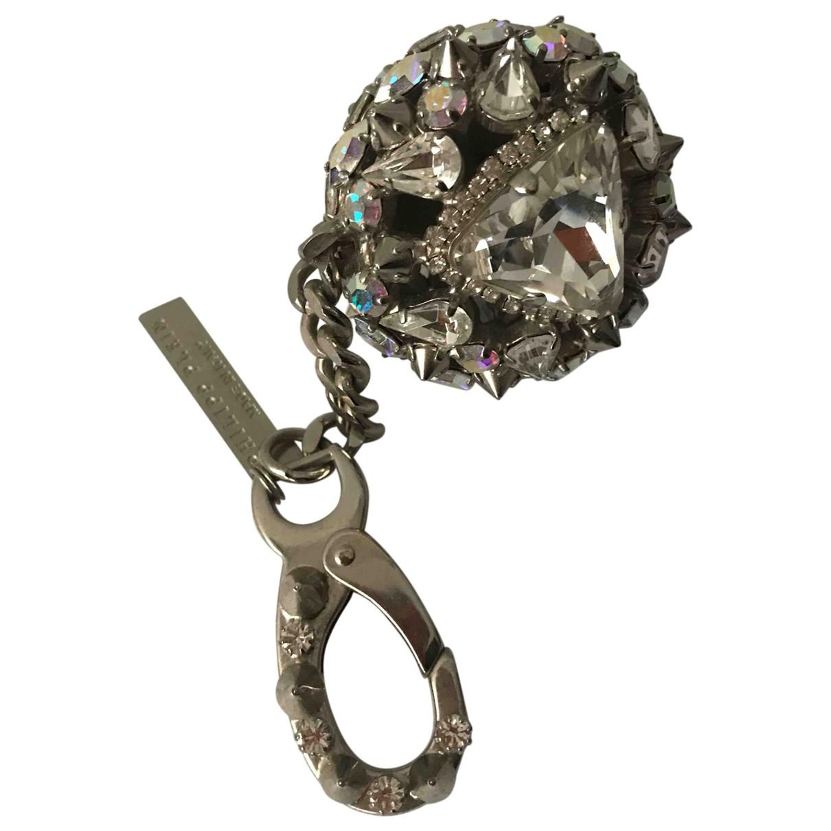 Philipp Plein \N Taschenschmuck in  Silber Metall