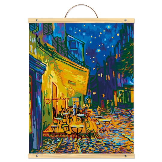 Terrace At Night Paint-By-Number Kit By Artist's Loft™ Necessities™ | Michaels®
