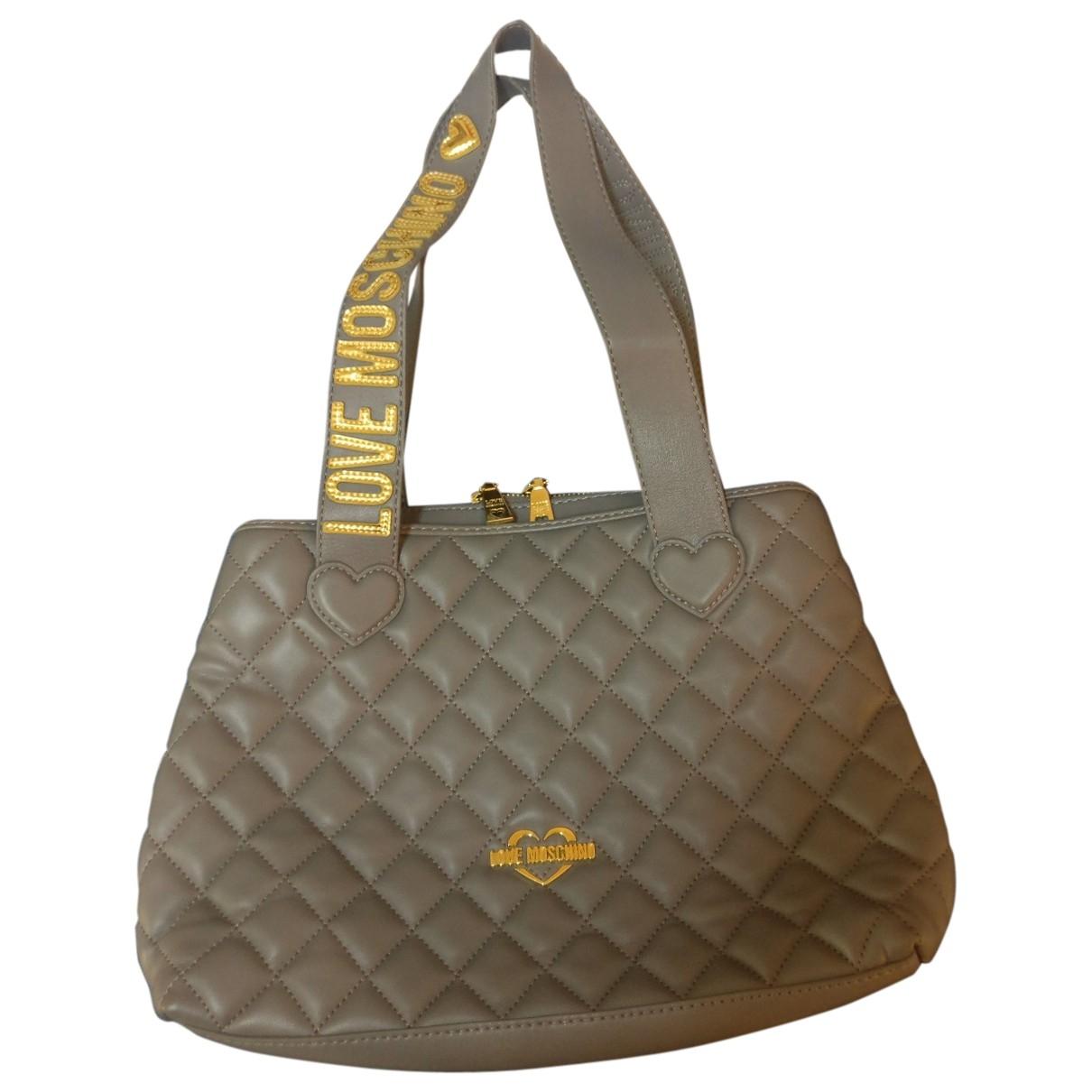 Moschino Love \N Grey handbag for Women \N