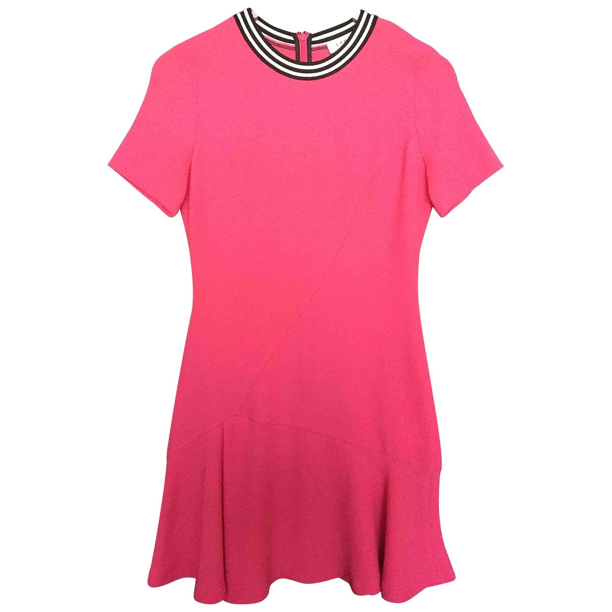 Sandro \N Kleid in  Rosa Polyester