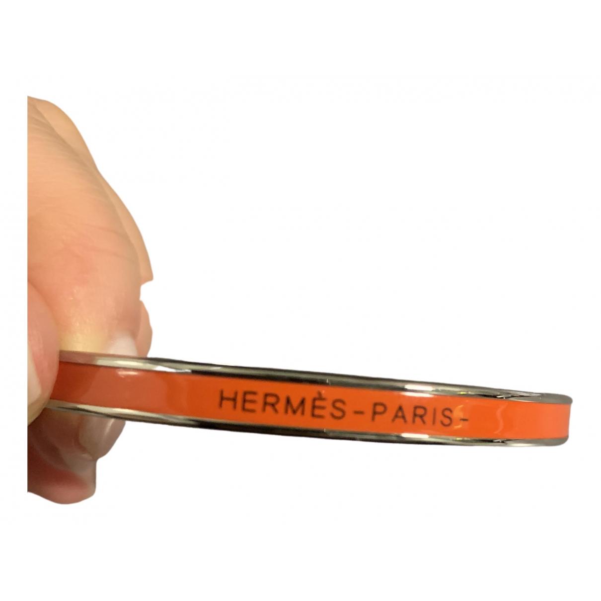 Hermes - Bracelet Bracelet Email pour femme en metal - orange